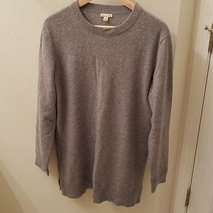 Gap cashmere sweater dress in grey